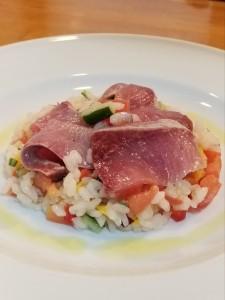 2019.0219料理教室‗お刺身とお米のサラダ