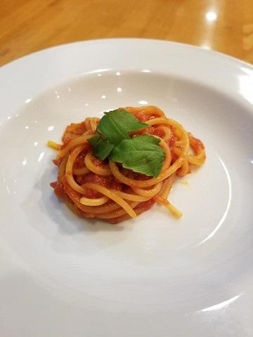 2019.08_食楽会‗スパゲッティトマトソース1